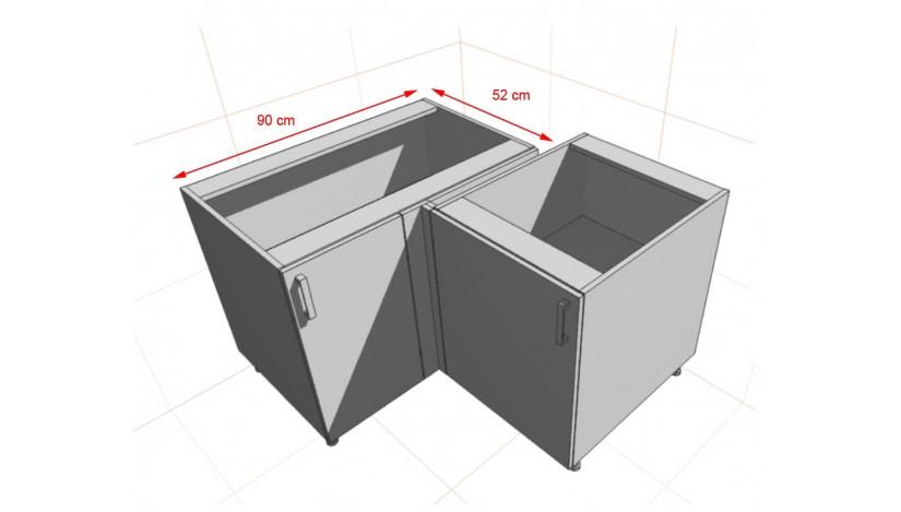 Bianka 105 ND 1F BB spintelė pastatoma kampinė