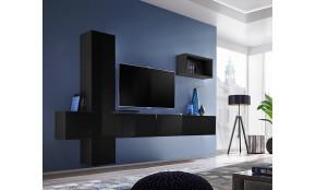Blox VI Sekcija juoda / juoda blizgi