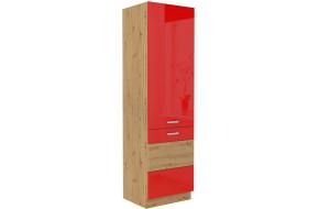 ARTISAN Raudona 60 DK-210 2F Ūkinė spinta