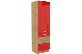 ARTISAN Raudona 60 LO-210 2F Šaldytuvo spinta