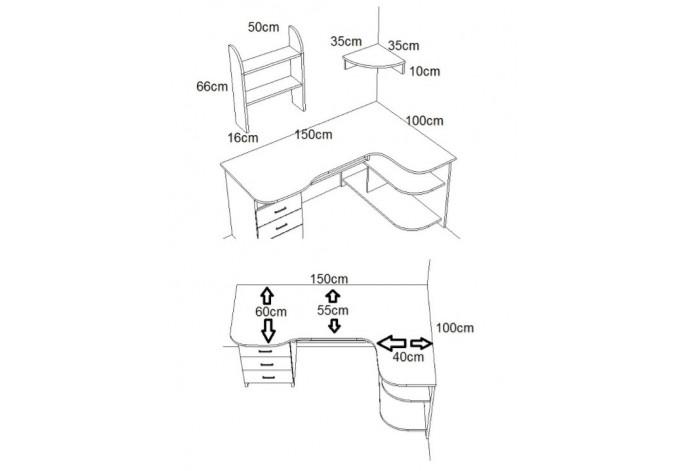 AQUAB3 Rašomasis stalas