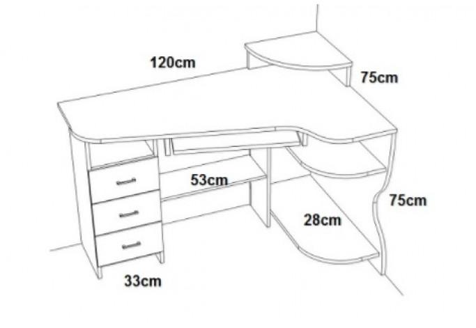 AQUAB4 Rašomasis stalas