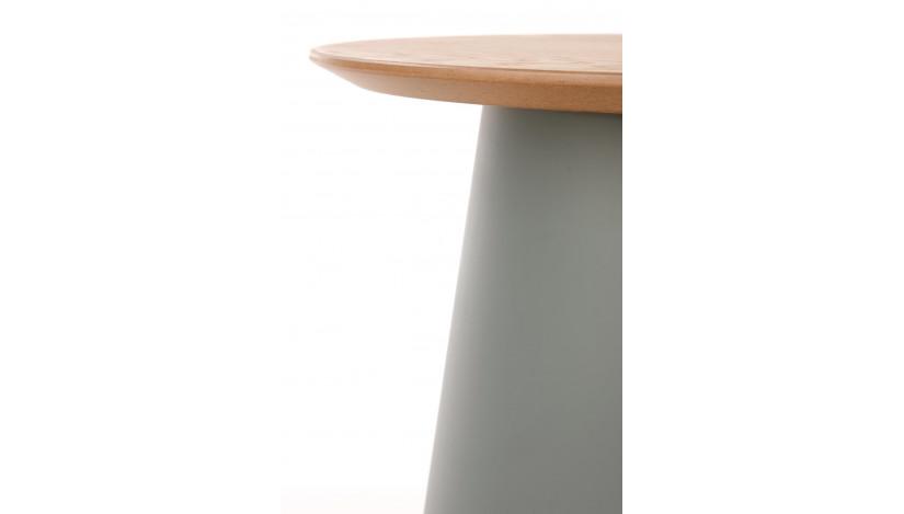 AZZURA-S staliukas apvalus Pelenų