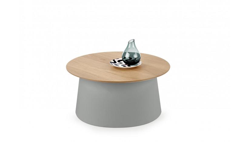 AZZURA staliukas apvalus Pelenų