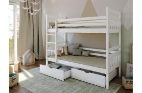 ADAS Dviaukštė lova 90 x 200 cm