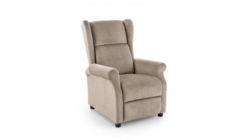 AGUSTIN-M fotelis su relax Smėlio