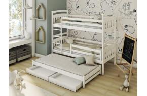 ALAN Trivietė lova 70 x 160/150 cm