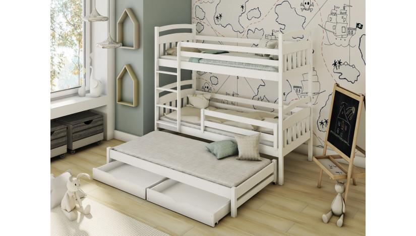 ALAN Trivietė lova 80 x 160/150 cm