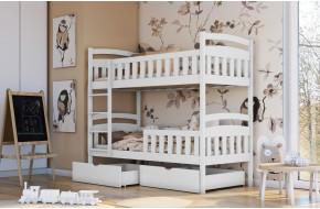 ANTOS Dviaukštė lova 90 x 200 cm