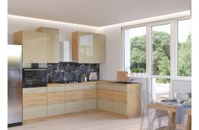 Artisan Cappucino 445 Virtuvės baldų komplektas Kampinis