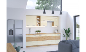 Artisan Krem 260 Virtuvės baldų komplektas