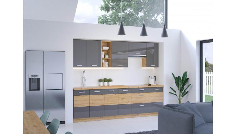 Artisan Pilka 260 Virtuvės baldų komplektas