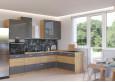 Artisan Pilka 445 Virtuvės baldų komplektas Kampinis