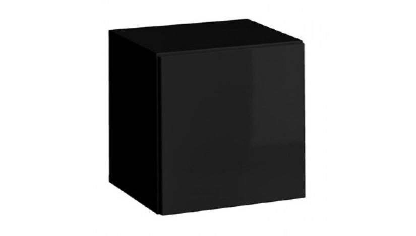 Blox SW20 Spintelė pakabinama juoda blizgi