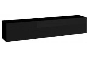 Blox SW24 Spintelė pakabinama juoda blizgi