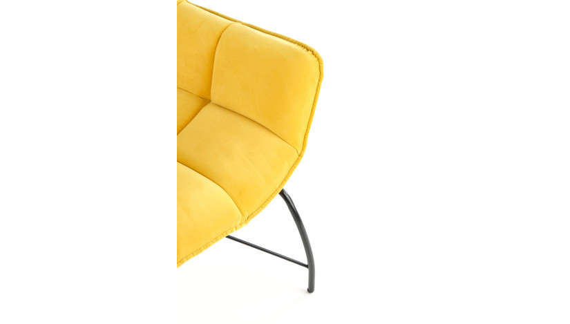 BELTON fotelis Geltona