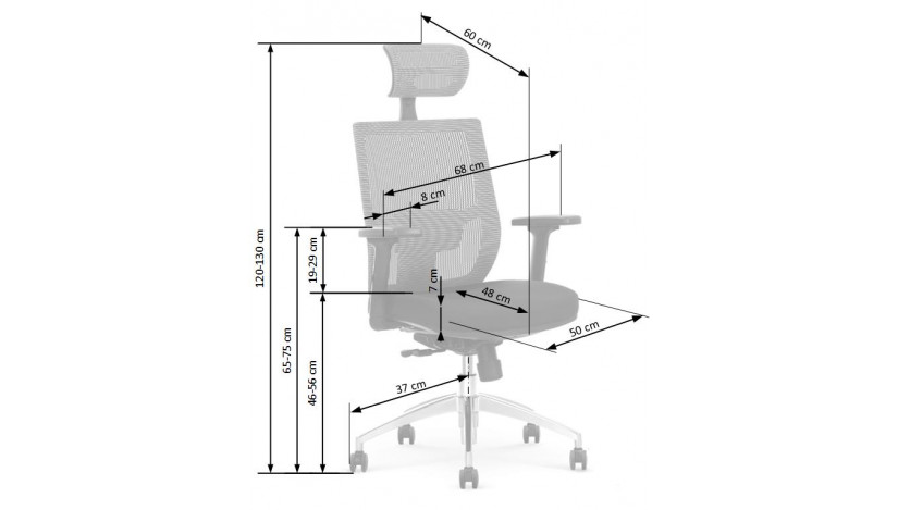 ADMIRAL Biuro kėdė