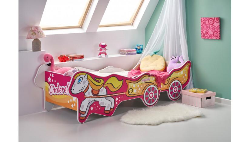 CINDERELLA Viengulė lova