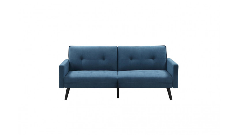 CORNER Sofa lova mėlyna