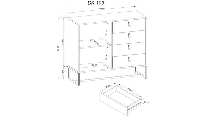 DARK DK103 komoda