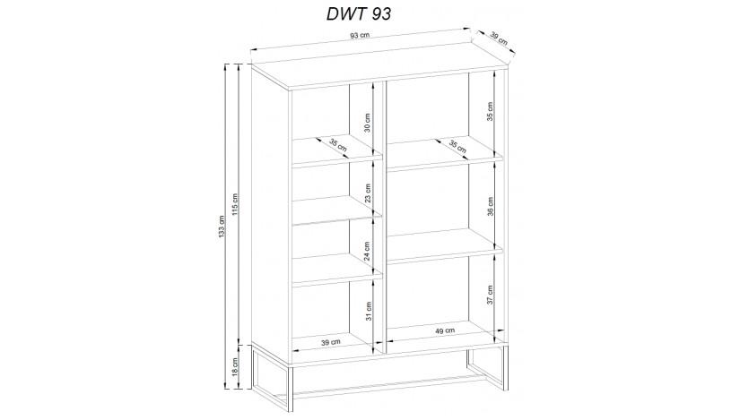 DARK DWT93 vitrina