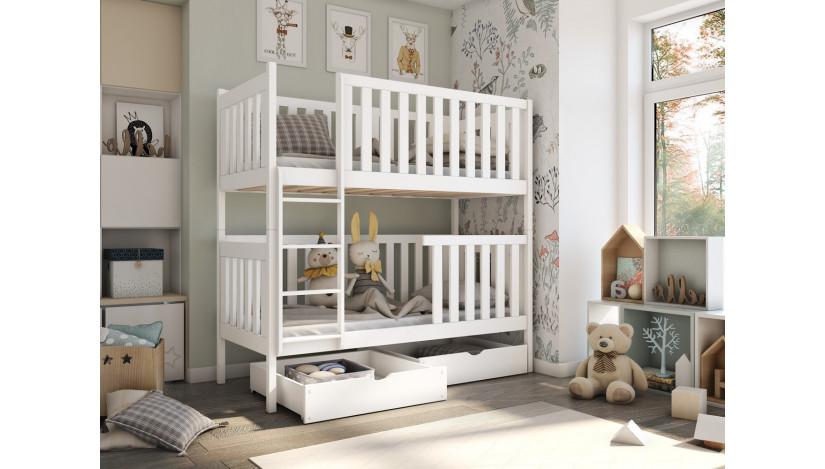 DAWID Dviaukštė lova  90 x 200 cm