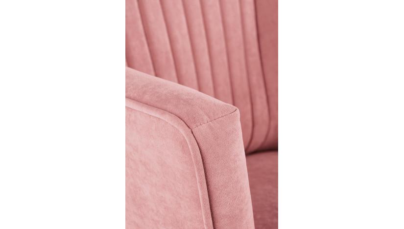 DELGADO fotelis Rožinė