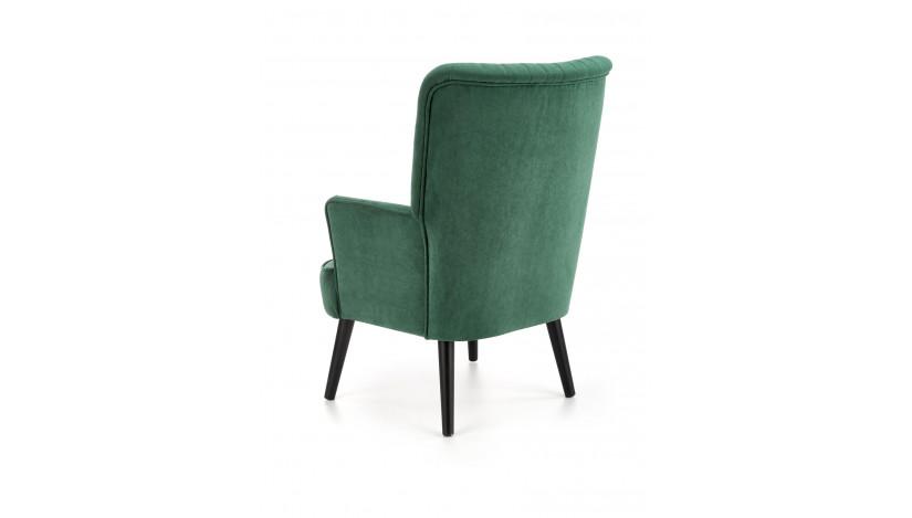DELGADO fotelis Žalia tamsi