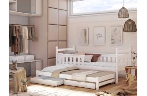 DOMINIK Dvigulė lova 90 x 200/190 cm