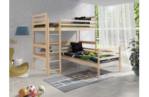 DOUBLE Dviaukštė lova 90 x 200 cm