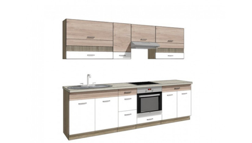 Econo A 270 Virtuvės baldų komplektas