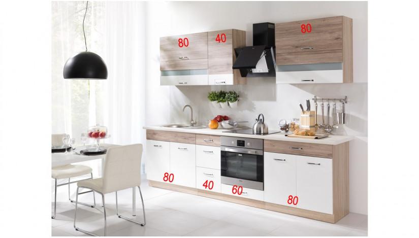Econo C 260 Virtuvės baldų komplektas