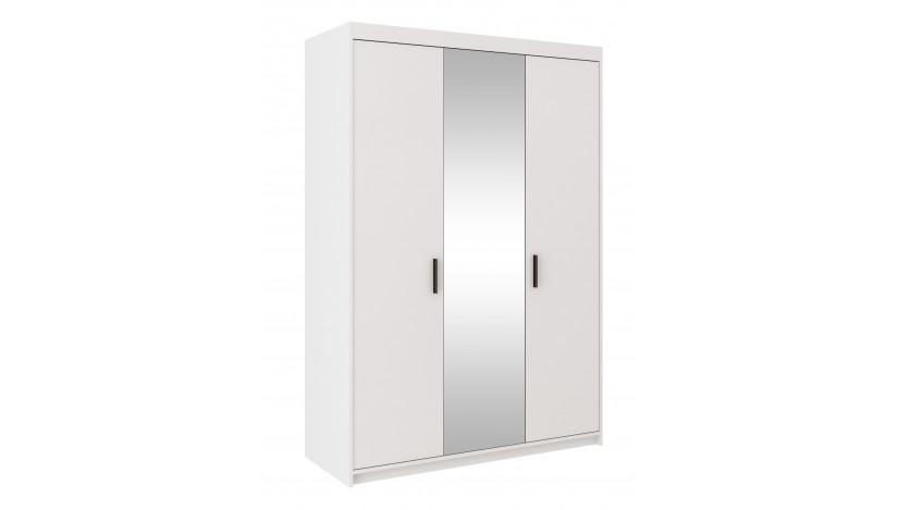 ELENA 3D Spinta su veidrodžiu balta