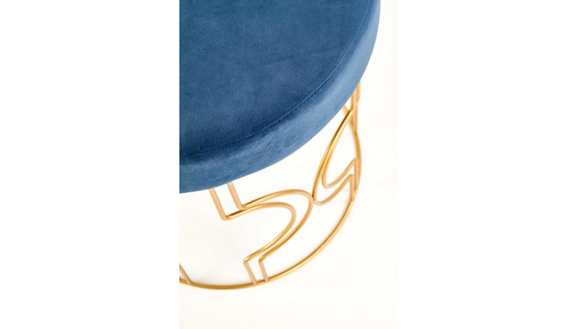 FERRERO Pufas mėlyna / auksinė