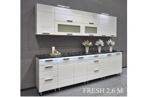 Virtuvės baldų komplektas FRESH 260 cm