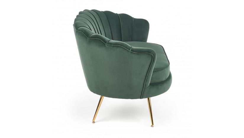 AMORINITO XL Fotelis tamsiai žalias