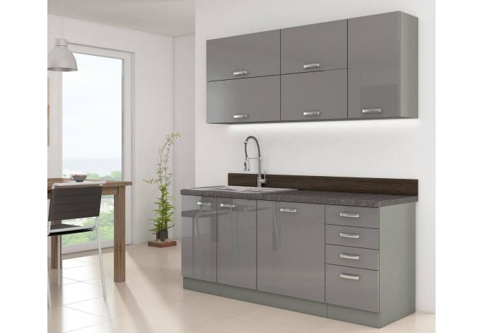 Grey 180 Virtuvės baldų komplektas