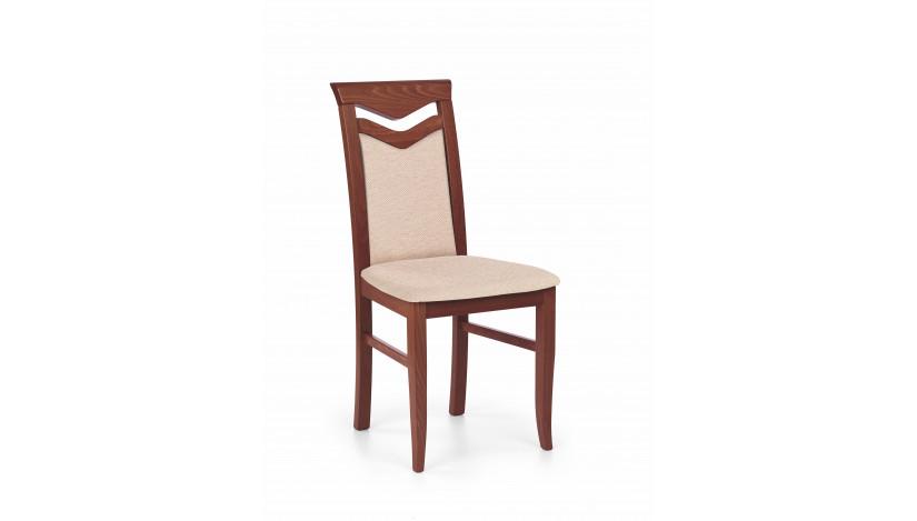 CITRONE Kėdė medinė trešnė antikinė / mesh 1