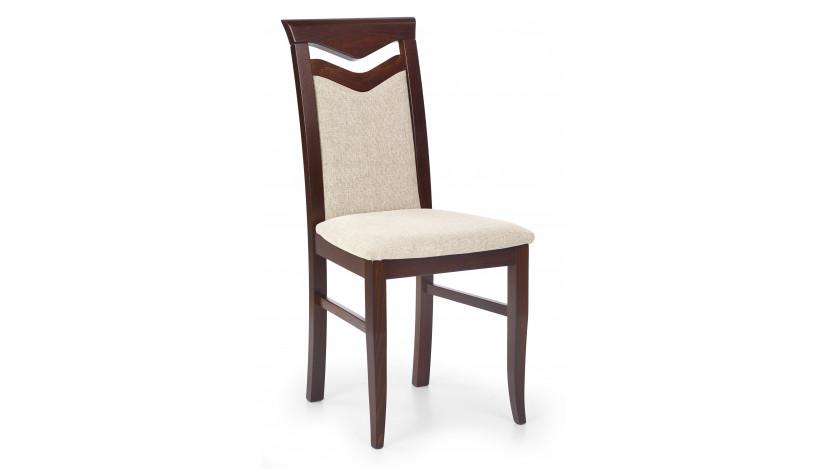 CITRONE Kėdė medinė riešutas tamsus / vila 2