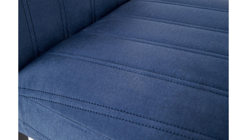 DIEGO 2 Kėdė medinė juoda / mėlyna monolith 77