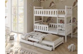 Kors 90 x 200 cm Trivietė lova
