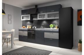 Libra Grafite Mat 260 Virtuvės Baldų Komplektas