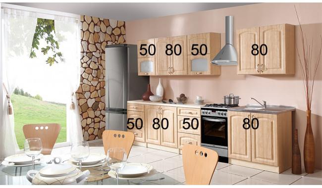 PORTAL 260 cm Virtuvės baldų komplektas