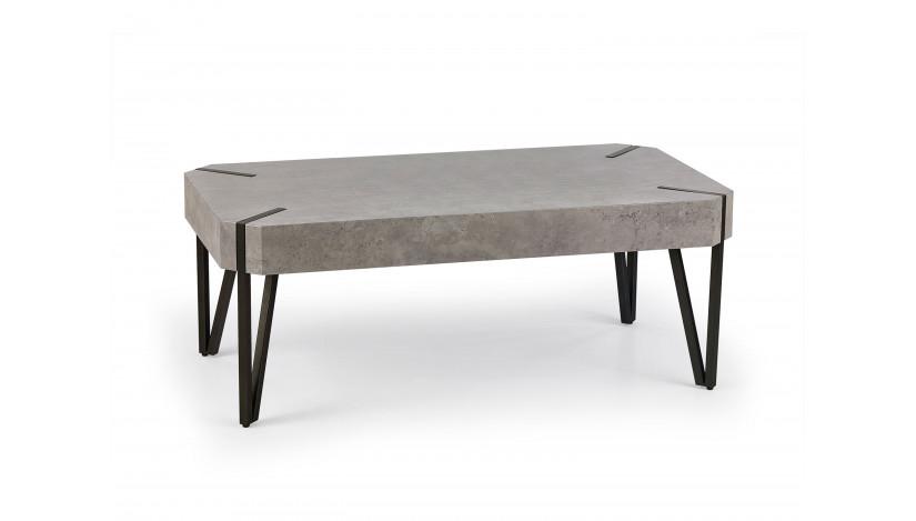 EMILY Staliukas betono / juoda