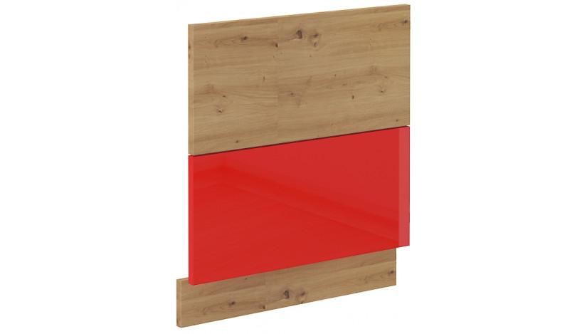 ARTISAN Raudona ZM 570x596 Indaplovės durelės
