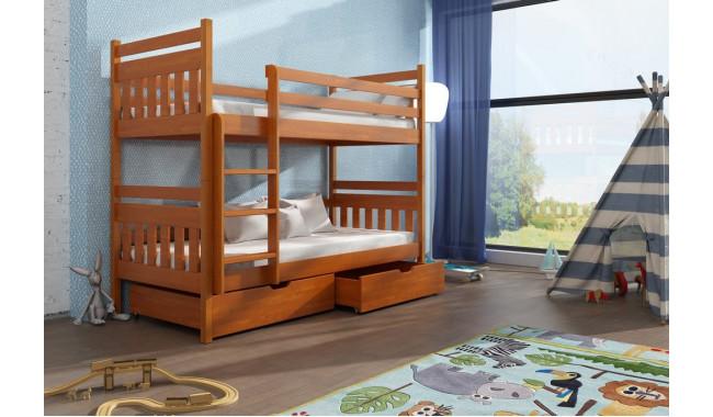 Adas 90 x 190 cm Dviaukštė lova