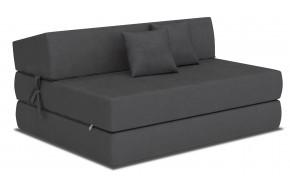 ALEX sofa čiužinys 121 cm tamsiai pilka 82