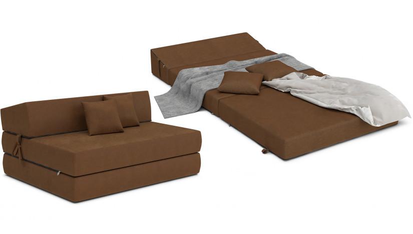 ALEX sofa čiužinys 121 cm ruda 04