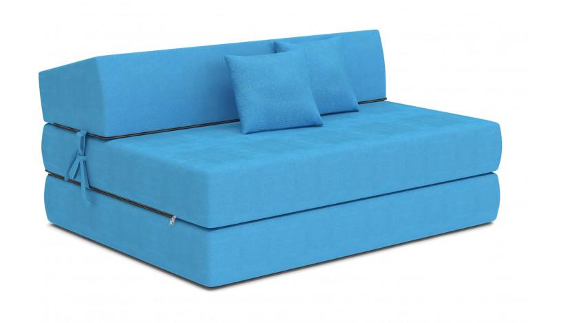 ALEX sofa čiužinys 121 cm žydra 18