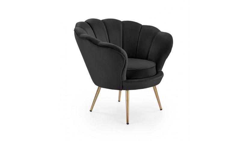 AMORINO Fotelis juodas